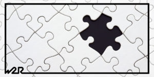 A picture of a puzzle for a blog post